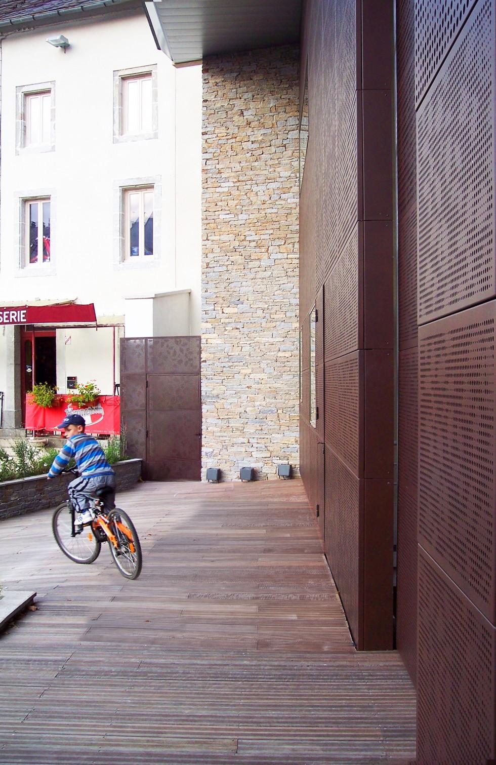 Terrasse de l'Hotel de Ville de Lacaune